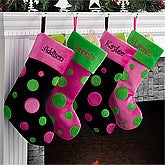 Personalized Christmas Stockings for Girls