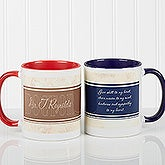 Personalized Office Coffee Mugs - Name Your Career - 10413