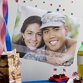 Custom Military Photo Poster Printing - Small