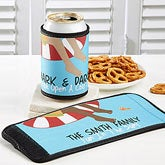 Personalized Swimming Pool Drink Wraps - No Shoes No Problem - 10439