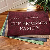 Personalized Family Name Doormats - Bless Our Nest - 10487
