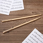 Personalized Drumsticks – Engraved - 10494