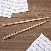 Personalized Drumsticks - Music Teacher - 10495