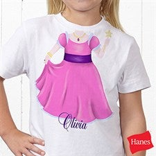 Personalized Girls Clothing - Princess or Ballerina - 10507