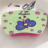 Girls Personalized Lap Desks - Butterfly - 10511