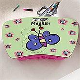 Girls Personalized Lap Desks - Butterfly - 10511
