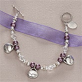 Girls Personalized Bracelet - Special Daughter - 10525