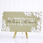 Personalized Canvas Art - Bless All Who Enter - 10540