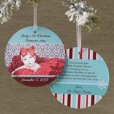 Personalized Hanging Ornanment Photo Christmas Card - Magical Season - 10560