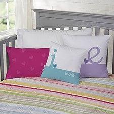 Personalized Throw Pillows - Heart Felt - 10565
