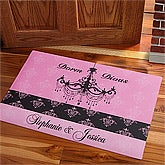 Personalized Girls Dorm Doormat - Dorm Divas - 10572