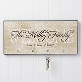 Personalized Key Racks - Welcome - 10575
