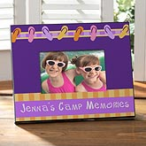 Personalized Summer Camp Picture Frame - Flip Flops - 10596