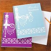Personalized School Notebooks - Chandelier - 10597