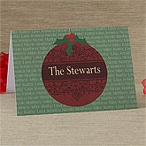 Personalized Christmas Cards - Christmas Ornaments - 10600