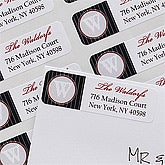 Personalized Return Address Labels - Our Monogram - 10635
