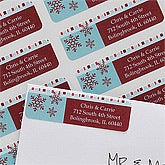 Christmas Return Address Labels - Magical Season - 10642