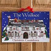 Family Photo Personalized Christmas Countdown Calendar - 5 Photos