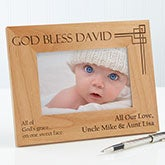 Personalized Picture Frames - Godchild - 10650