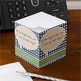 Personalized Notepad Paper Cube - Bright Ideas - 10672