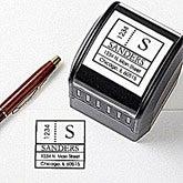 Custom Address Stamps - Modern Address - 10673