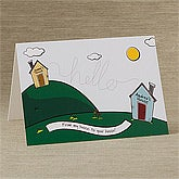 Thinking Of You Personalized Greeting Cards - Miles Apart - 10678