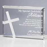 Personalized Religious Gifts - Godchild Keepsake - 10680