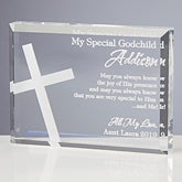 Personalized Religious Gifts - Godchild Keepsake - 10680
