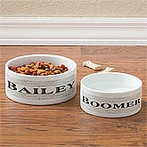 Personalized Dog Dishes - Doggie Delights - 10706