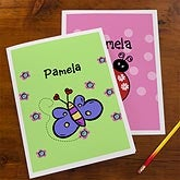 Personalized Girls School Folders - Choose Your Design - 10707