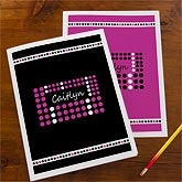 Personalized School Folders for Girls - Just Her Style - 10709