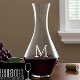 Personalized Wine Decanter with Initial Monogram - Riedel - 10710