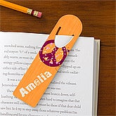 Pretty Peace Personalized Bookmark Set