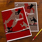 Personalized School Folders - Skateboard - 10718