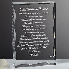 61b2a715 Personalized Gift Sculpture With Father Poem - 1074