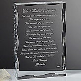 Dear Dad Poem Personalized Keepsake