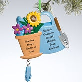Personalized Christmas Ornaments for Gardeners - 10768