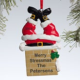 Personalized Christmas Ornaments - Santa Claus Chimney - 10772