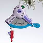 Personalized Christmas Ornaments - Hair Stylist - 10773