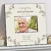 Personalized 5x7 Memorial Picture Frame - In Loving Memory - 10779