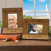 Personalized Memorial Picture Frame - 10781