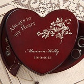 Always In My Heart© Engraved Jewelry Box