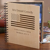 Personalized Photo Album - American Flag - 10797