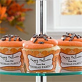 Personalized Halloween Cupcake Wrappers - Happy Halloween - 10808