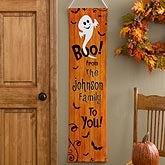 Personalized Halloween Door Banner - Happy Halloween - 10816