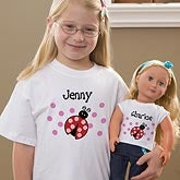 Personalized Doll T-Shirt - You Choose - 10828