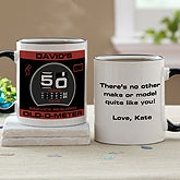 Personalized Birthday Coffee Mugs - Oldometer - 10834