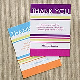 Personalized Thank You Cards - Time to Celebrate - 10843