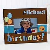 Personalized Kids Birthday Picture Frames - Birthday Time - 10844