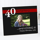 Personalized Birthday Photo Frames - Age Is Not Important - 10851